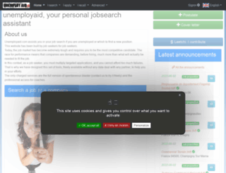 unemployaid.com screenshot