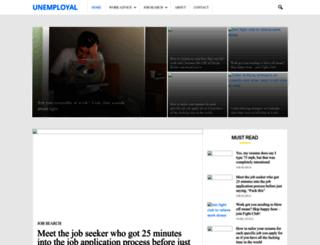 unemployal.com screenshot