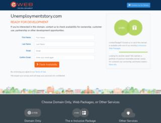 unemploymentstory.com screenshot