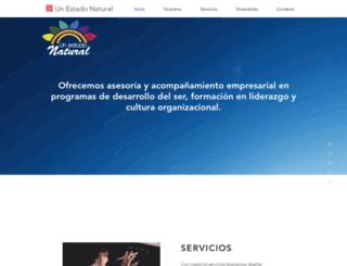 unestadonatural.com screenshot