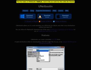 unetbootin.sourceforge.net screenshot