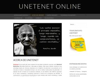 unetenetonline.wordpress.com screenshot