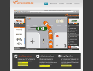 unfallskizze.de screenshot