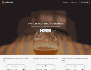 unfiltered.beerandbrewing.com screenshot