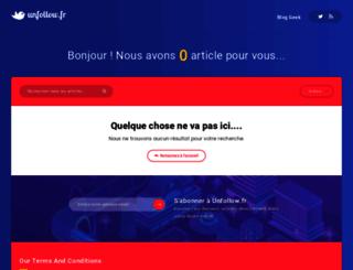 unfollow.fr screenshot