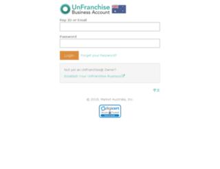 unfranchise.com.au screenshot