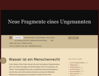 ungenannter.wordpress.com screenshot