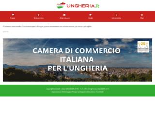 ungheria.it screenshot