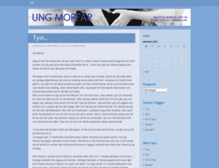 ungmorfar.wordpress.com screenshot
