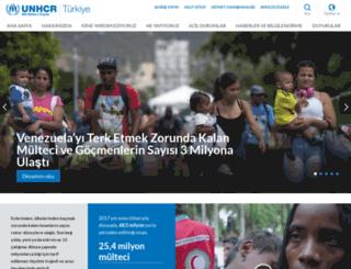 unhcr.org.tr screenshot