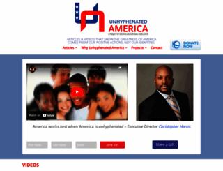 unhyphenatedamerica.org screenshot