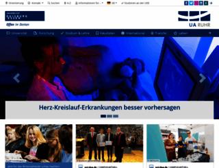 uni-duisburg-essen.de screenshot