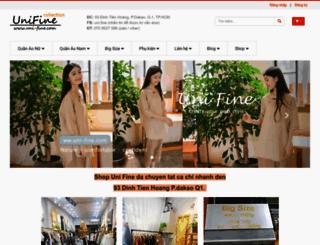 uni-fine.com screenshot