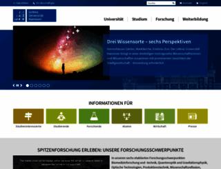 uni-hannover.de screenshot