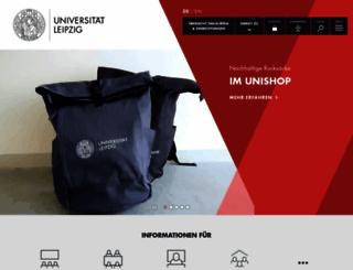 uni-leipzig.de screenshot