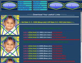 uni-voize.com screenshot