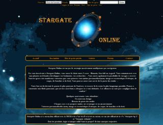 uni1.stargate-online.com screenshot