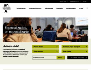 unia.es screenshot