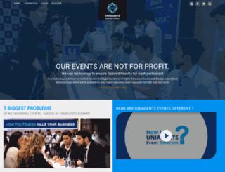 uniagentsevents.com screenshot
