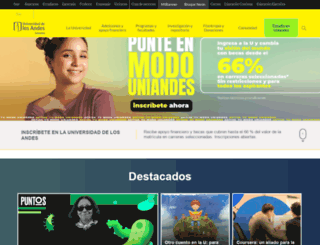 uniandes.edu.co screenshot