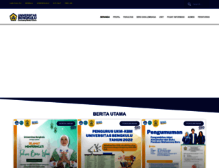 unib.ac.id screenshot