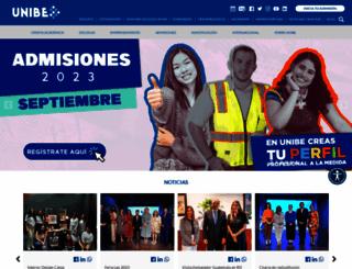 unibe.edu.do screenshot