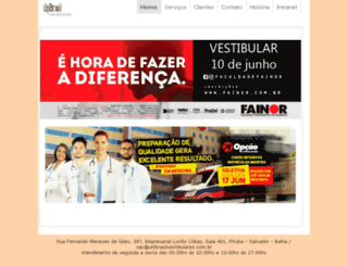 unibrasilvestibulares.com.br screenshot