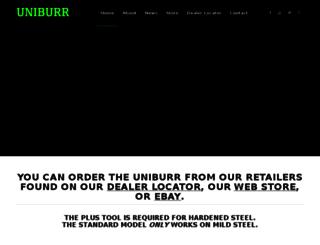 uniburr.com screenshot