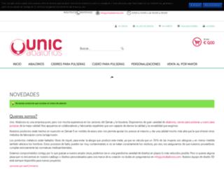 unicabalorios.com screenshot