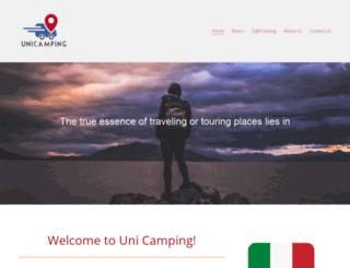 unicamping.com screenshot