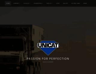 unicat.net screenshot