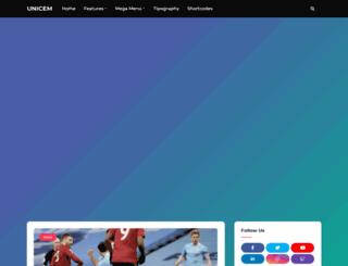 unicem.com.ng screenshot
