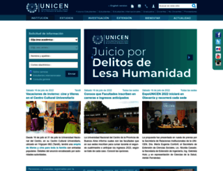unicen.edu.ar screenshot