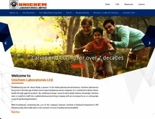 unichemlabs.com screenshot