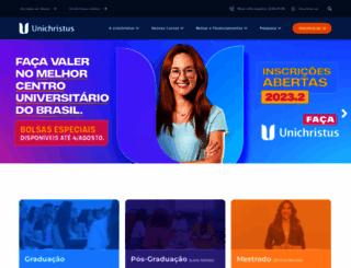 unichristus.edu.br screenshot