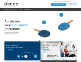 unicite.acceo.com screenshot