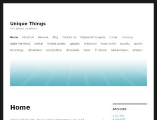 unico-cosas.com screenshot