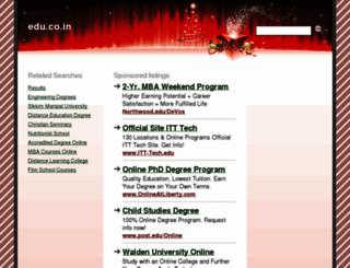 unico.edu.co.in screenshot