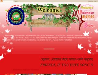 unicomworld.blogspot.com screenshot