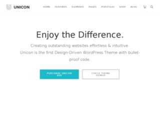 unicon.mintithemes.com screenshot