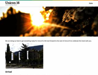 unicon16.it screenshot
