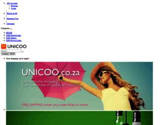 unicoo.co.za screenshot
