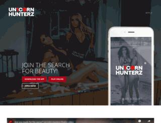 unicornhunterz.com screenshot