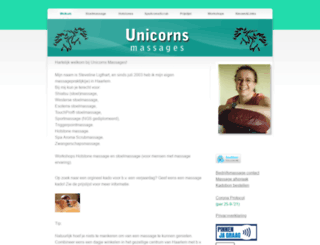 unicorns.nl screenshot
