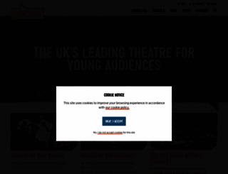 unicorntheatre.com screenshot