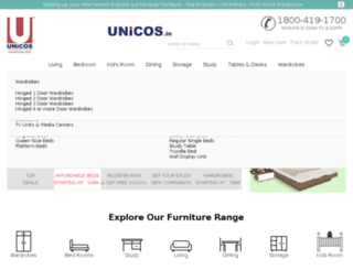 unicos.in screenshot