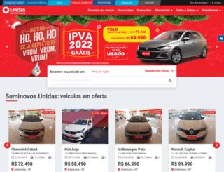 unidasseminovos.com.br screenshot