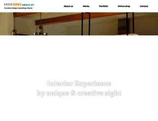 unideco.co.kr screenshot