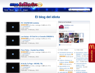 unidiota.com screenshot