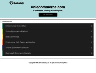 uniecommerce.com screenshot